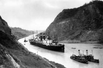 Panamski kanal 1915.
