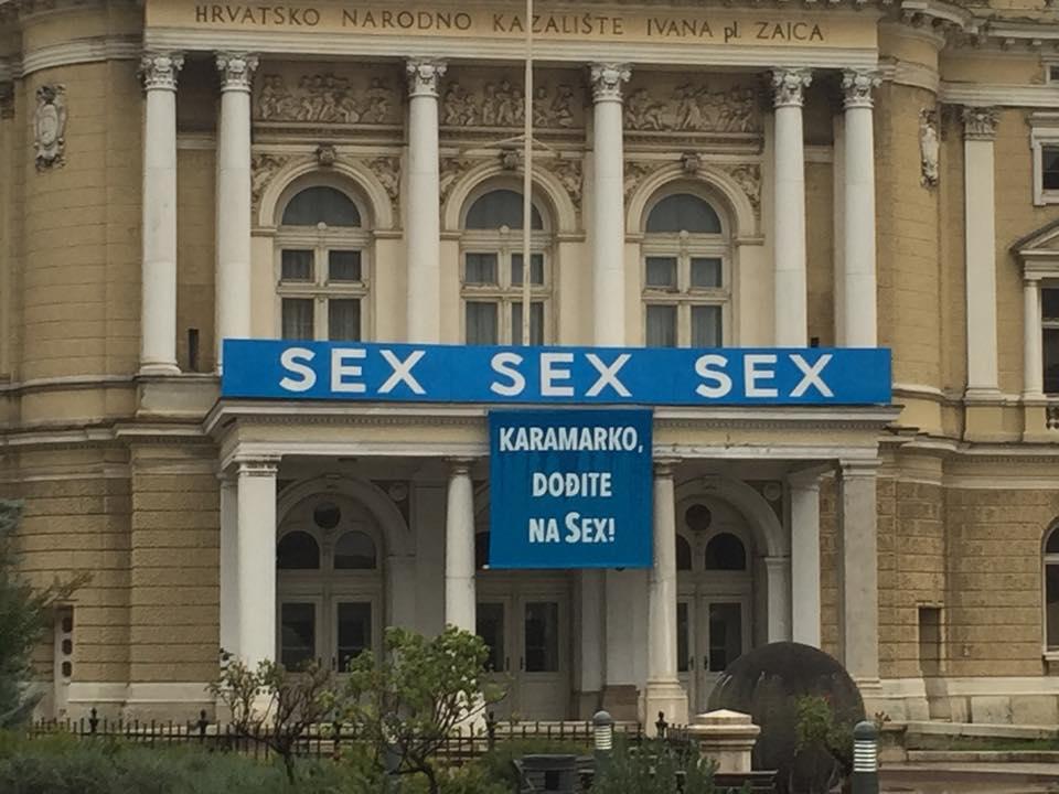 Hrvatsko srpska sex rapsodija