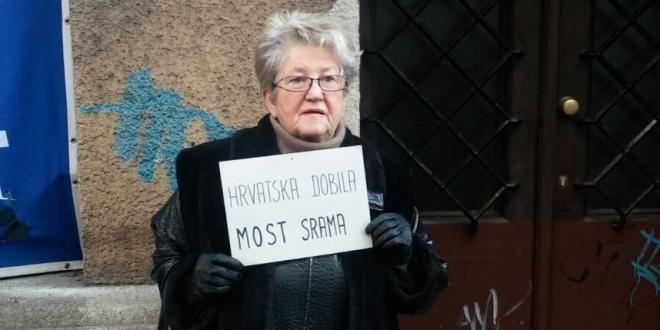 Prosvjed pred MOST-om (foto: Leona Šiljeg/Vijesti.hr)