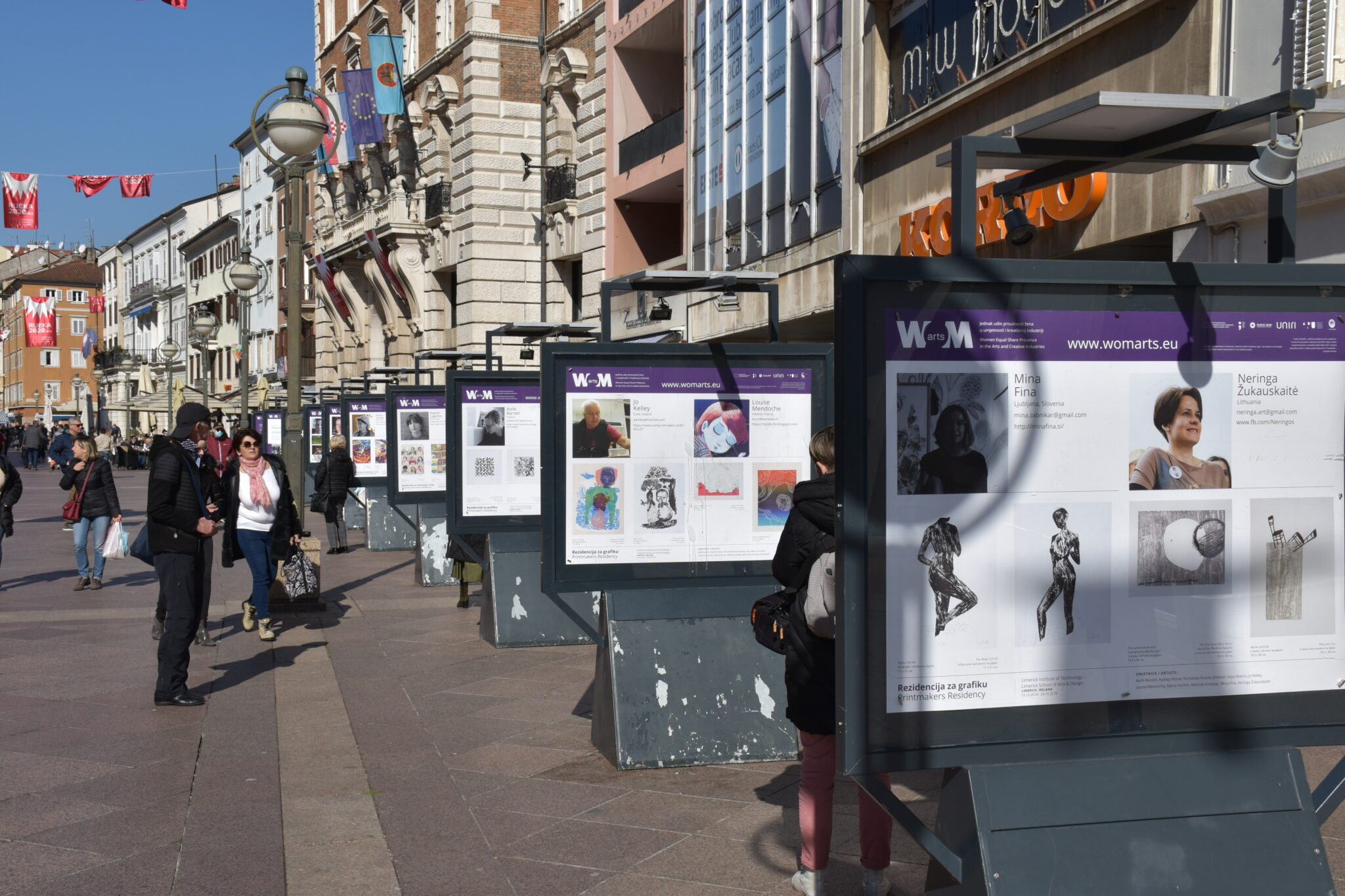 Povodom Dana žena na Korzu otvorena izložba Wom@rts!
