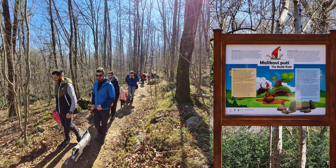 """(FOTO) U kastavskoj šumi uređena šetnica za djecu – """"Malikovi puti"""""""